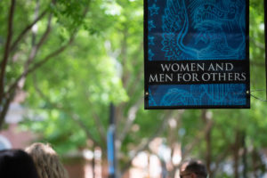 Women and Men for Others Banner